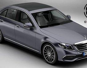 3D upper Mercedes E Class Exklusive 2017