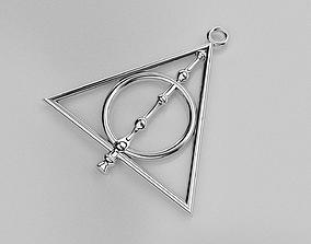Deathly hallows 3D printable model