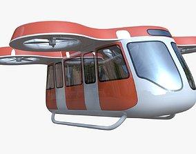 Passenger drone 3D model