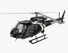 AS-350 Anaheim Police 3D asset