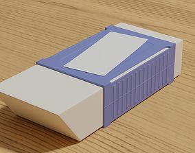 3D An eraser