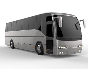 3D model people Deluxe Coach Bus