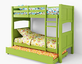 3D Bunk Bed bunkbed