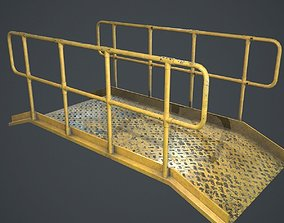Industrial Platform PBR 3D model game-ready