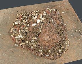 Photoscan Beach Rock 0007 only HighPoly Mesh 16K 3D model