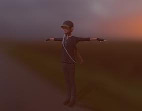 3D asset The Hunter