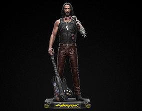 Johnny Silverhand 3D printable model