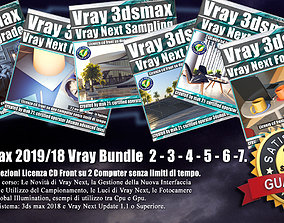 3ds max 2019 e 2018 Vray Bundle 2 - 3 - 4 - 5 - 6 -