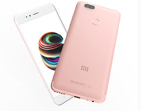 Xiaomi Mi A1 RosePink Color 3D model