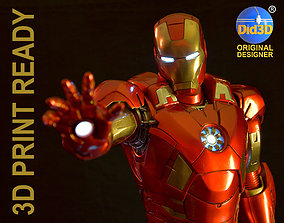 IRON MAN Mark 7 HQ 62cm 1-3Scale 3D Print Ready