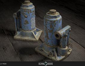 VR / AR ready Jack Tool - Photogrammetry Asset 3D