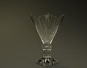 Flower vase 3D asset low-poly