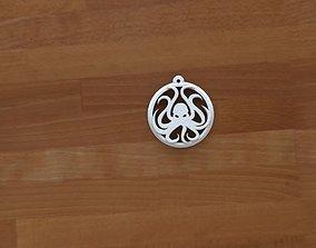 3D print model cthulhu keychain