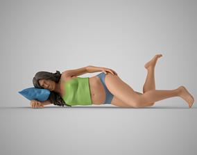 Sleepy Woman 3D printable model