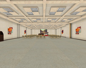 A large room for public meetings HALL 3D