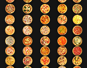 Pizza Collection 3D model