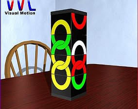 3D model Missing Link Puzzle