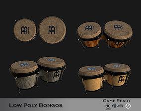3D model Bongo Lowpoly