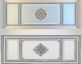 3D Ceiling moldings