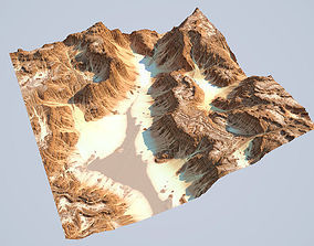 3D rocks Detailed Canyon Model 2