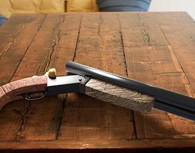 double barrel shotgun 3D model