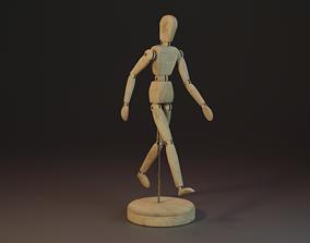 3D asset Drawing Mannequin