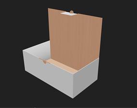 3D asset Carton Box Packaging