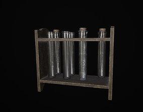 3D asset Flask Stand