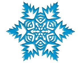 3D model Snowflake