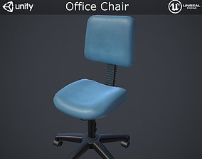 3D model game-ready PBR Office Chair
