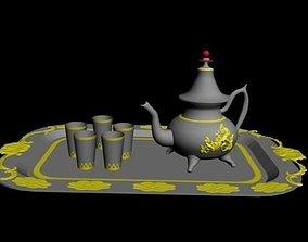 3D Moroccan tea jug