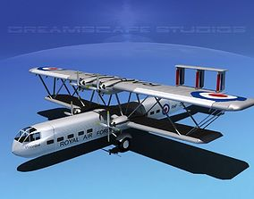 Handley Page HP42 Hannibal V03 3D model
