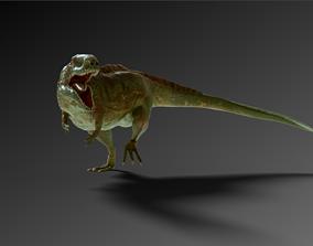 3D model animated Giganotosaurus