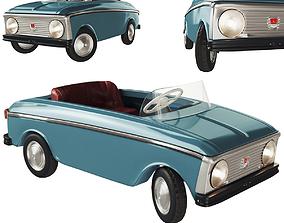 3D Pedal car Moskvich AZLK
