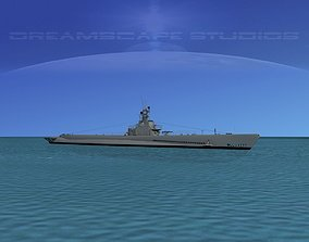 3D Gato Class Submarine SS-238 USS Wahoo