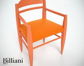 Billiani Vincent VG armchair 3D model
