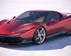 3D Ferrari SP38 Deborah 2019
