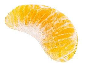 3D Tangerine slice