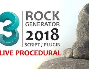 3D Rock Generator v2 2018 rock
