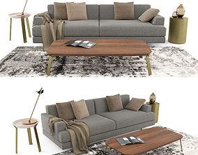 Casa International Cordovado sofa 3D model