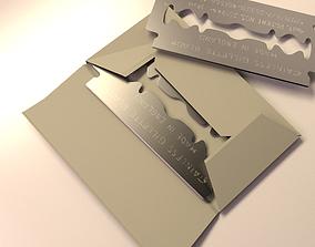 Razor Blades 3D