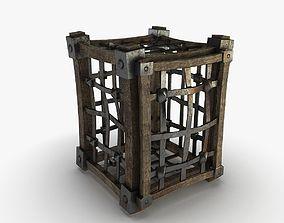 Cage medieval 3D model