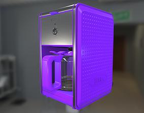 Bella Dots Collection Coffee Maker PBR 3D asset