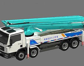 3D Pump Truck