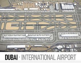 3D asset Dubai International Airport - DXB