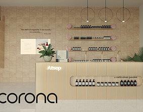 3D Aesop Cosmetics Store Design