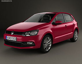 Volkswagen Polo 5-door 2014 3D