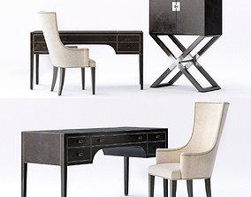 Bernhardt Clarendon Home office 3D model chair