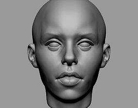 3D print model Base Female Head v3