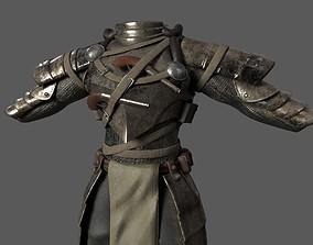 Fictitious Armor 3D asset